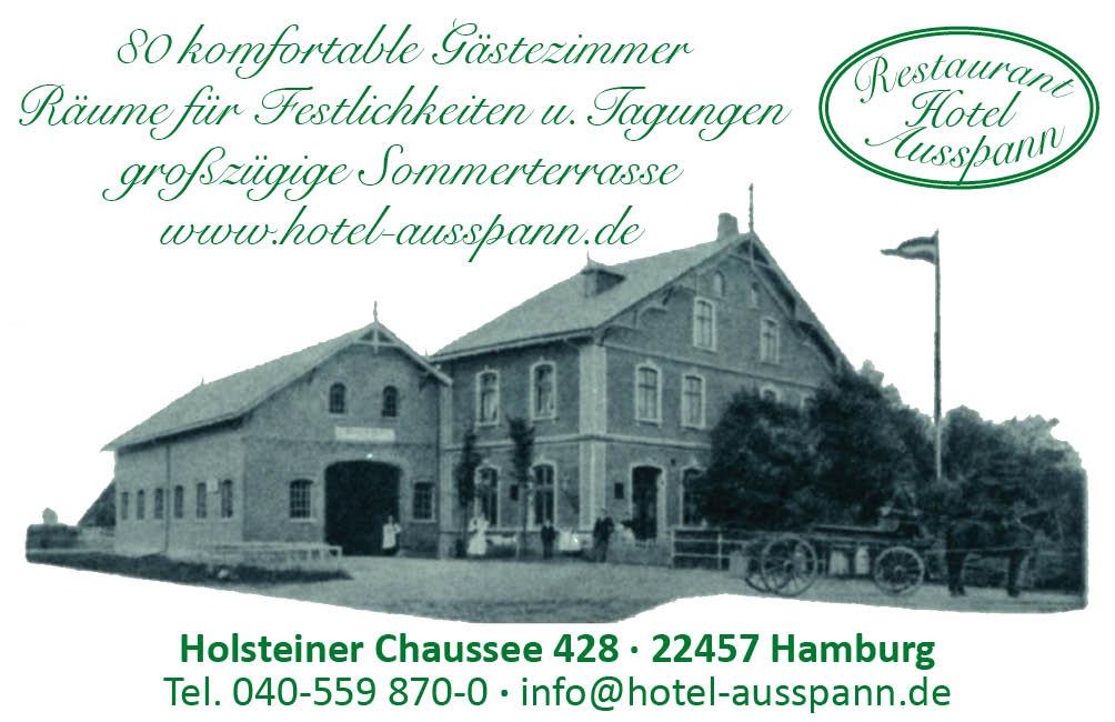 Visitenkarte Hotel Ausspann 200217 Herz Von Schnelsen