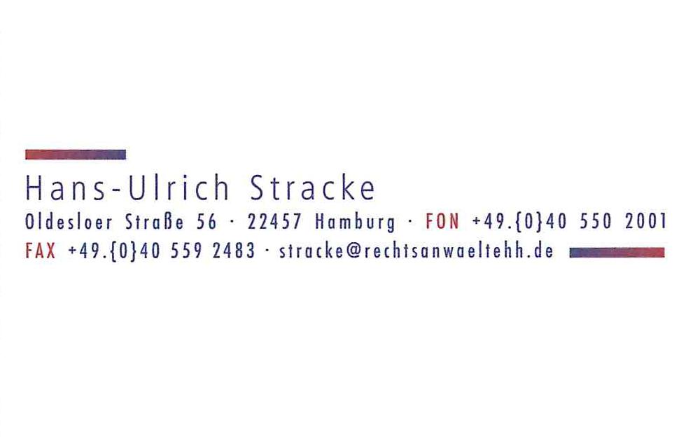 Rechtsanwalt Stracke